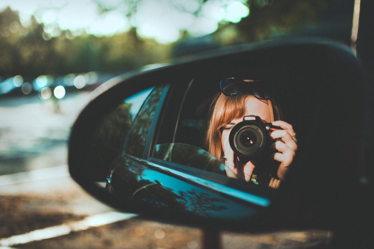 The dangers of car selfies