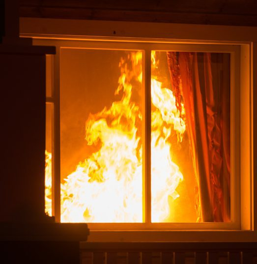 Does home insurance typically cover accidental fires?